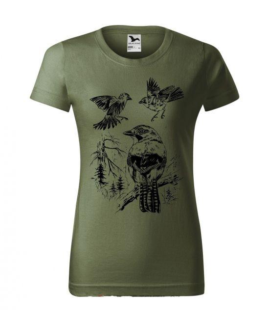 Dámské tričko - Sojka