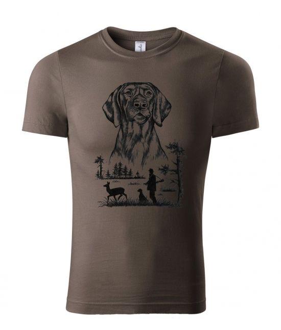 Pánské tričko - Barvář na lovu