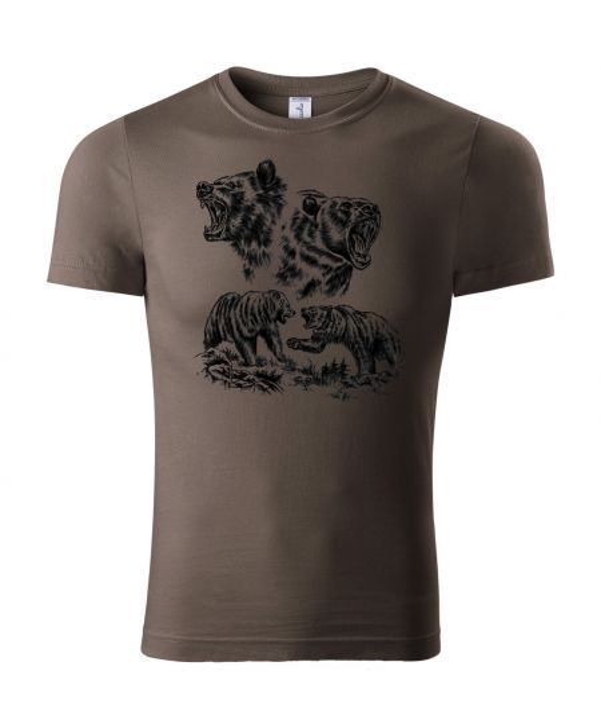 Pánské tričko - medvědi