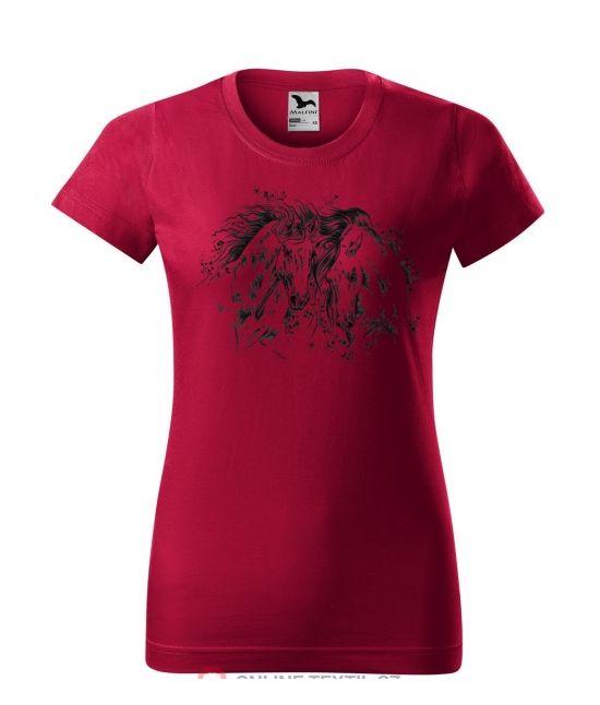 Dámské tričko -  2 koně