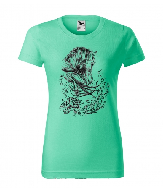 Dámské tričko - rose