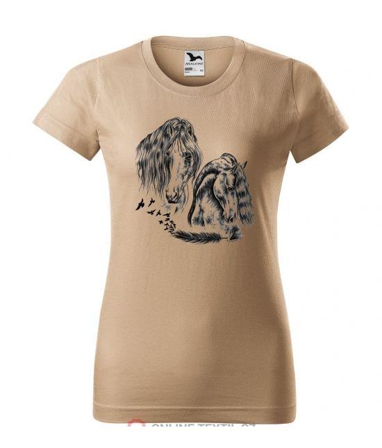 Dámské tričko - feather