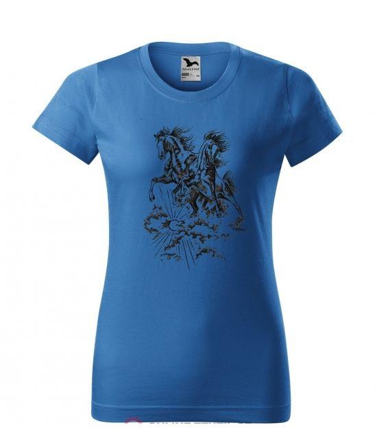 Dámské tričko - Nebe