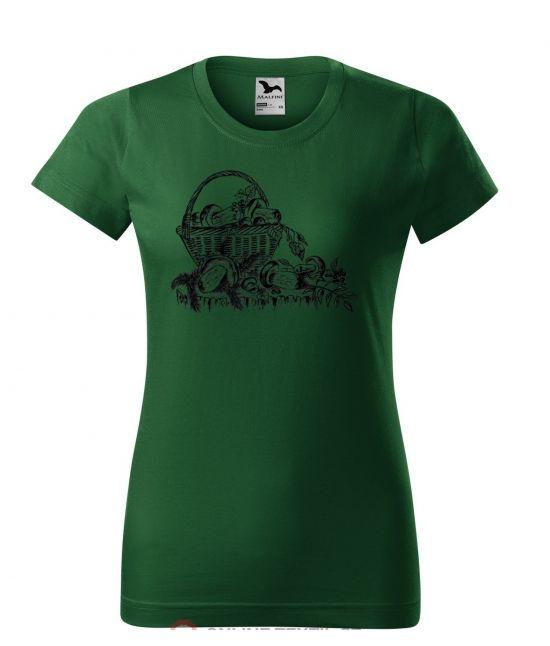Dámské tričko - Houbařské...