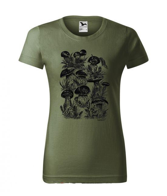 Dámské tričko - houby