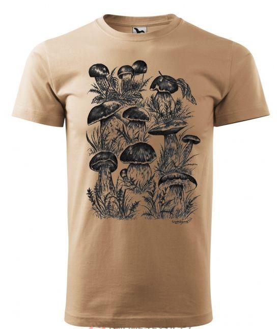 Pánské tričko - houby