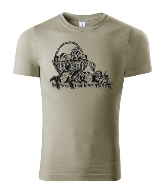 Pánské tričko - houbařské...