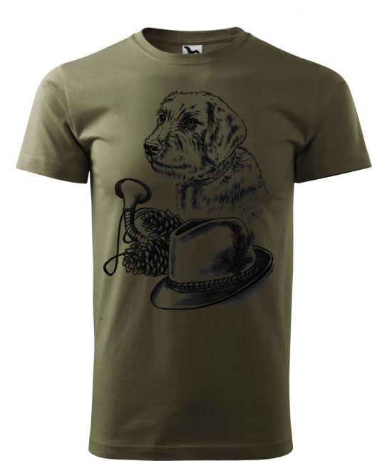 Pánské tričko - Štýrský brakýř
