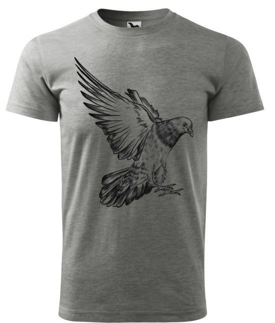 Pánské tričko - holub