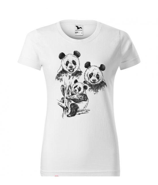 Dámské tričko - Panda velká