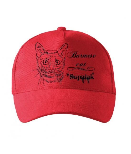 Kšiltovka -  Barmská kočka