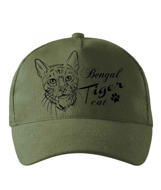 Kšiltovka - Bengálská kočka
