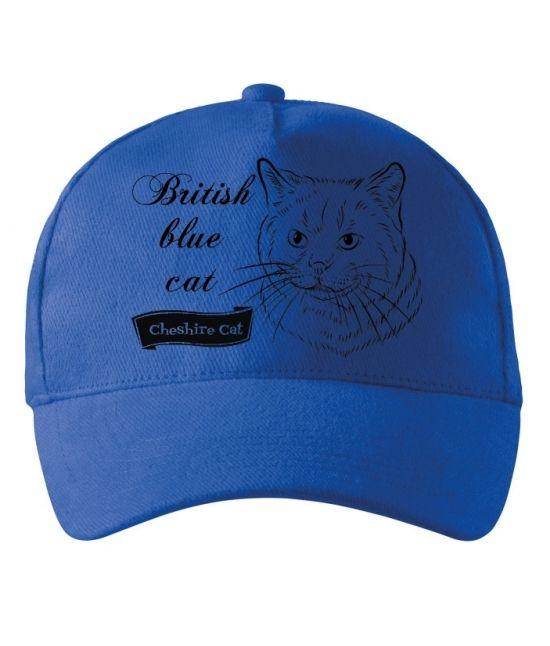 Kšiltovka - Britská modrá...