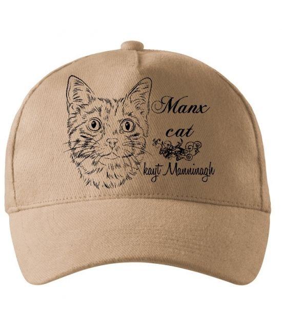 Kšiltovka - Manská kočka