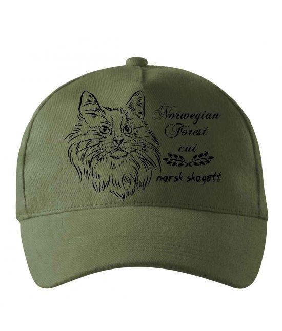 Kšiltovka - Norská lesní kočka
