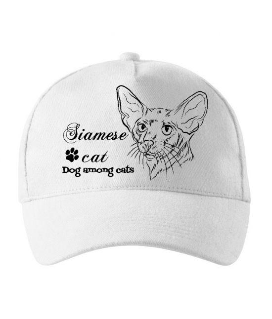Kšiltovka - Siamská kočka