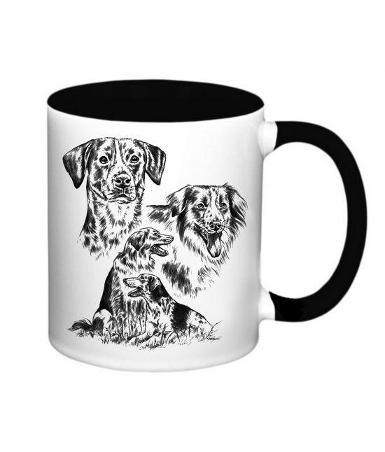 Hrneček - Český strakatý pes