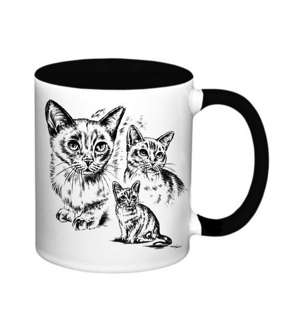 Hrneček - Barmská kočka