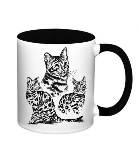 Hrneček - Bengálská kočka