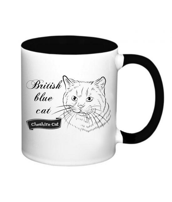 Hrneček - Britská modrá kočka