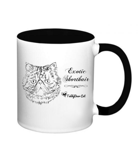 Hrneček - Exotická kočka