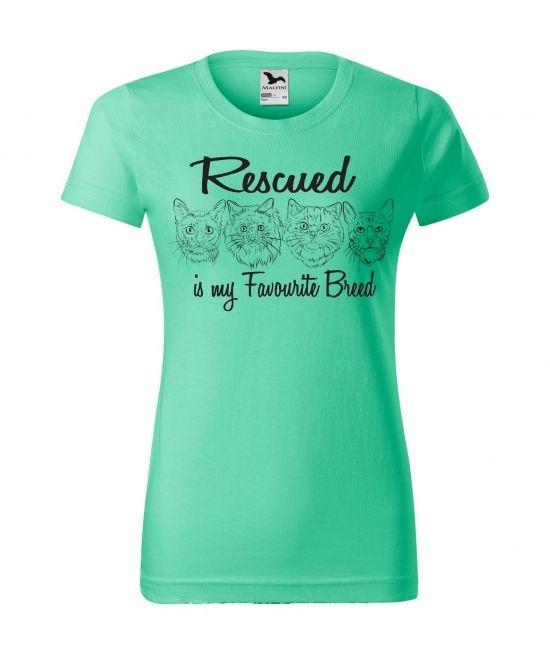 Dámské tričko - Rescued