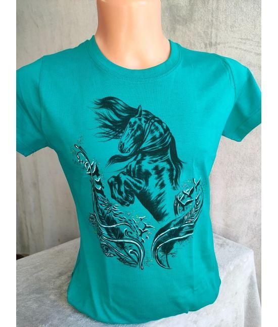 Dětské tričko -Fríský kůň