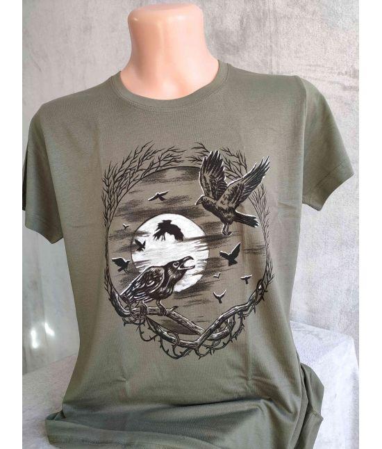 Dámské tričko- Havrani