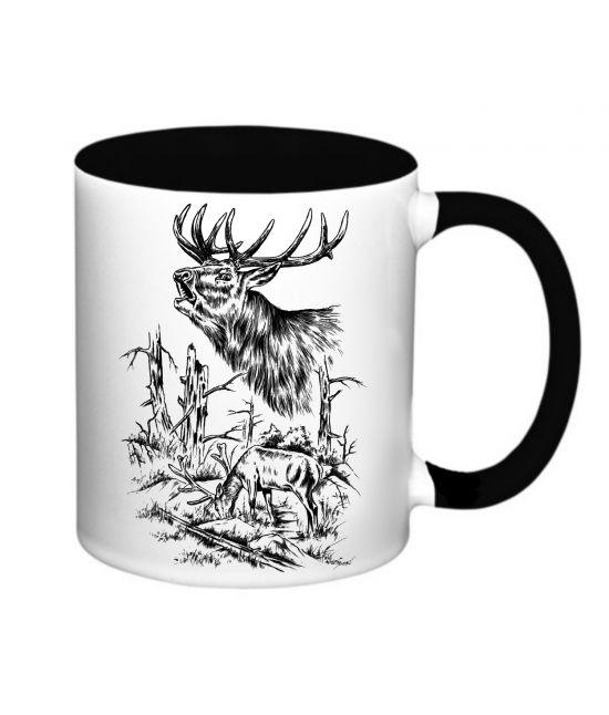 Hrneček - Pasoucí se jelen