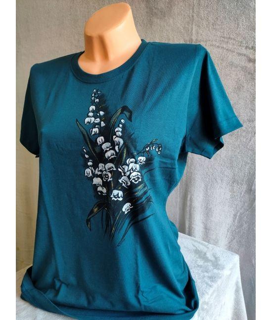 Dámské tričko- Konvalinky