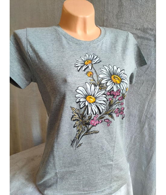 Dámské tričko- Kopretiny