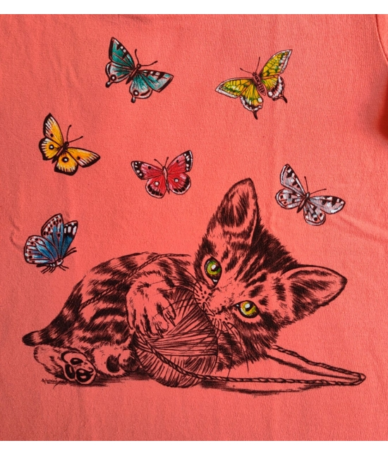 Dětské tričko - Kotě s klubkem