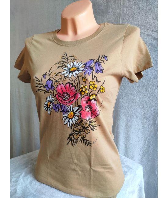 Dámské tričko - Luční kytice