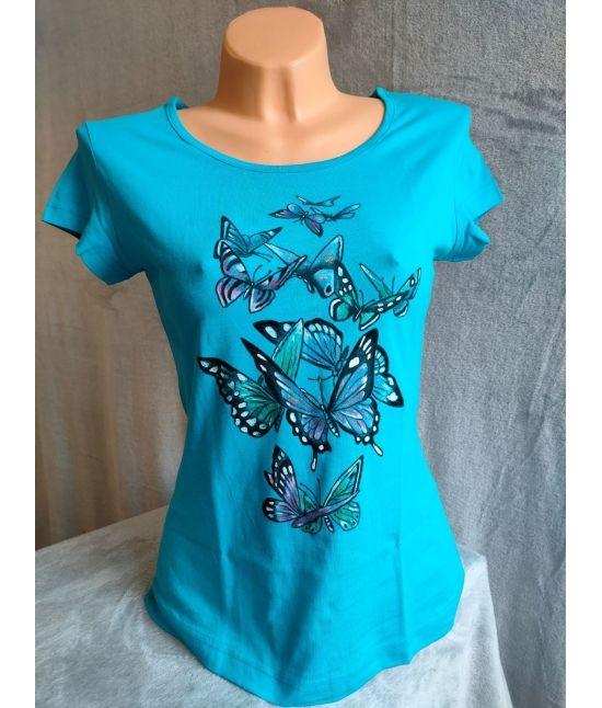 Dámské tričko - Motýli