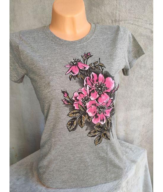 Dámské tričko - Planá růže