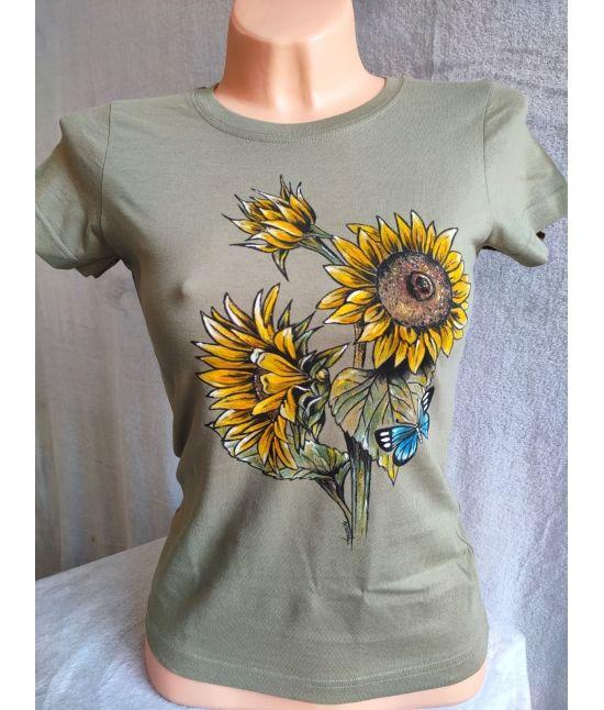 Dámské tričko - Slunečnice