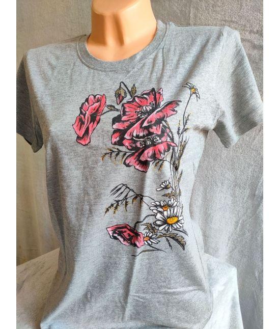 Dámské tričko - Vlčí máky