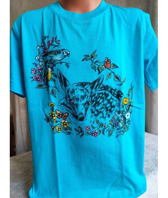 Dětské tričko - Ležící srnče