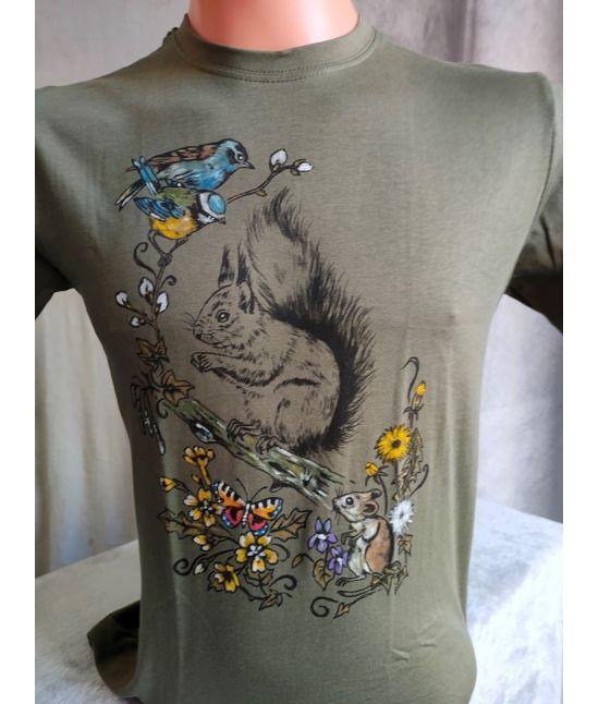 Dětské tričko - Veverka