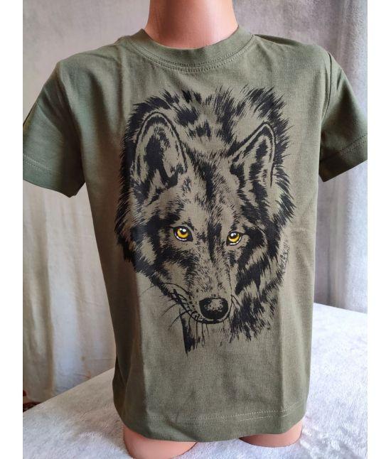 Dětské tričko - Vlk