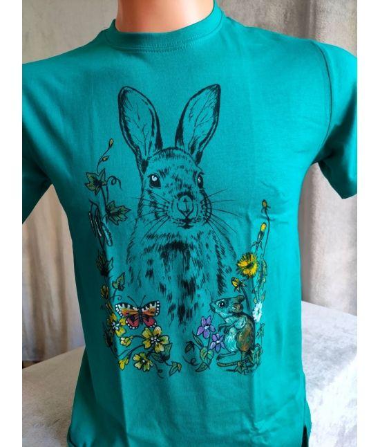 Dětské tričko - Zajíc