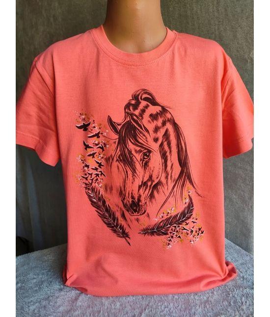 Dětské tričko - Arab s peříčky