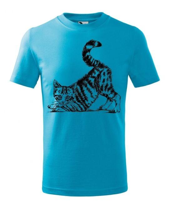 Dětské tričko - Kočka