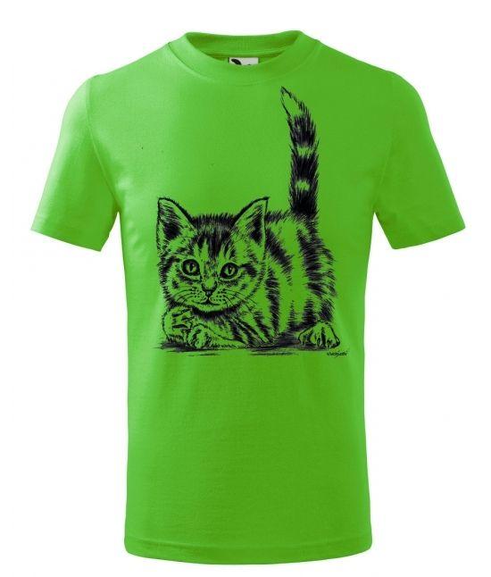 Dětské tričko - Koťátko