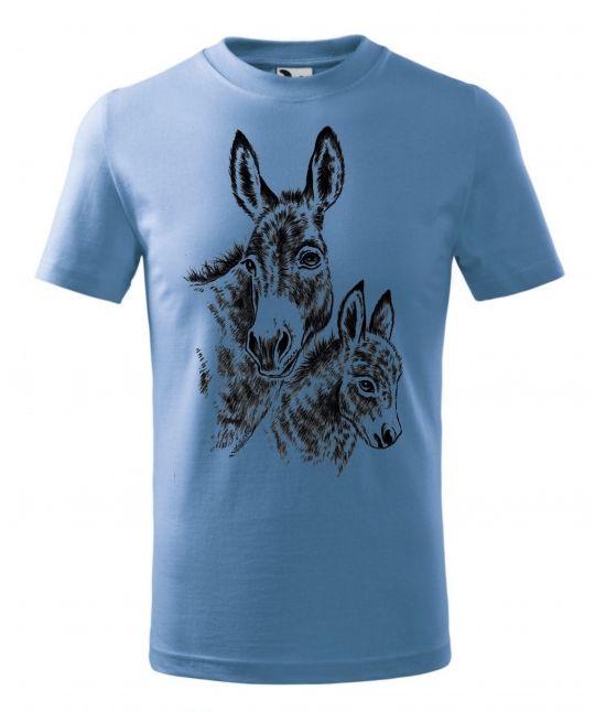 Dětské tričko - Oslík