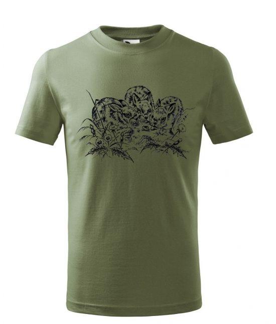 Dětské tričko - Zajíčci
