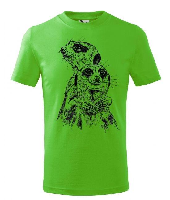 Dětské tričko - Surikaty