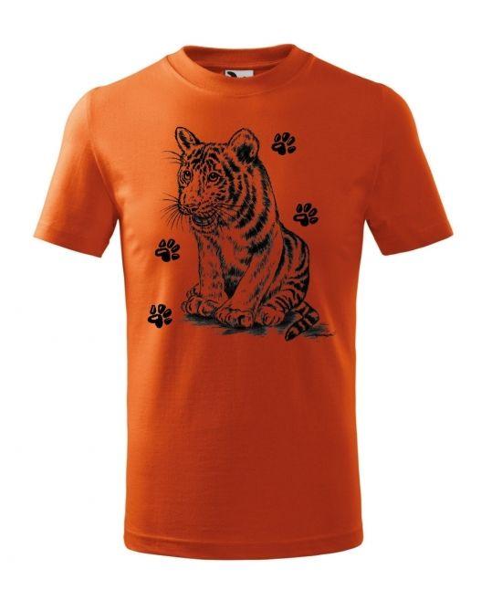 Dětské tričko - Tygřík
