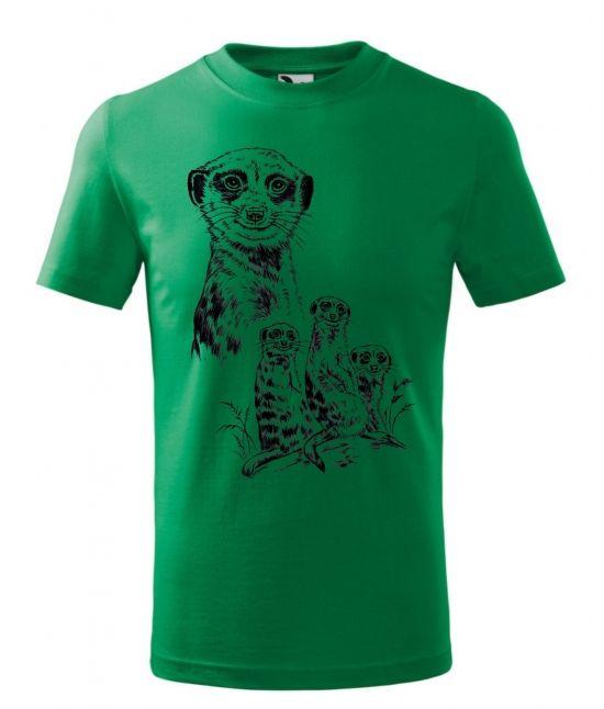 Dětské tričko - Rodinka...