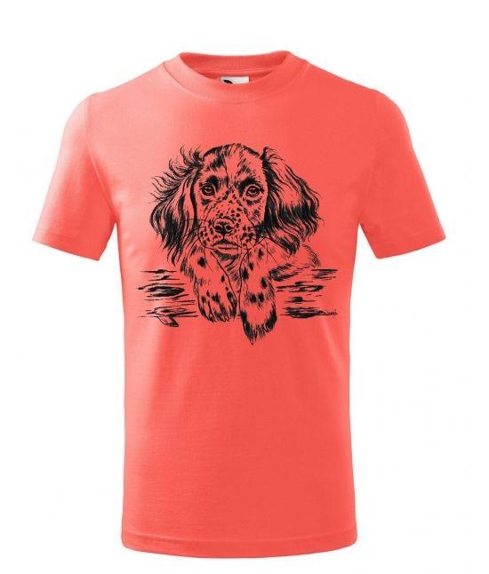 Dětské tričko - Hlava štěněte